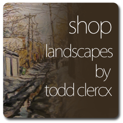 Buy Original Landscape Paintings by the artist Todd Clercx.  Todd Clerx, fine artist and painter from Wyoming, MN is also a teacher at Roseville high school in the Minnesota Twin Cities of Minneapolis and St. Paul.