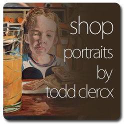 Buy Original Portrait Paintings by the artist Todd Clercx.  Todd Clerx, fine artist and painter from Wyoming, MN is also a teacher at Roseville high school in the Minnesota Twin Cities of Minneapolis and St. Paul.